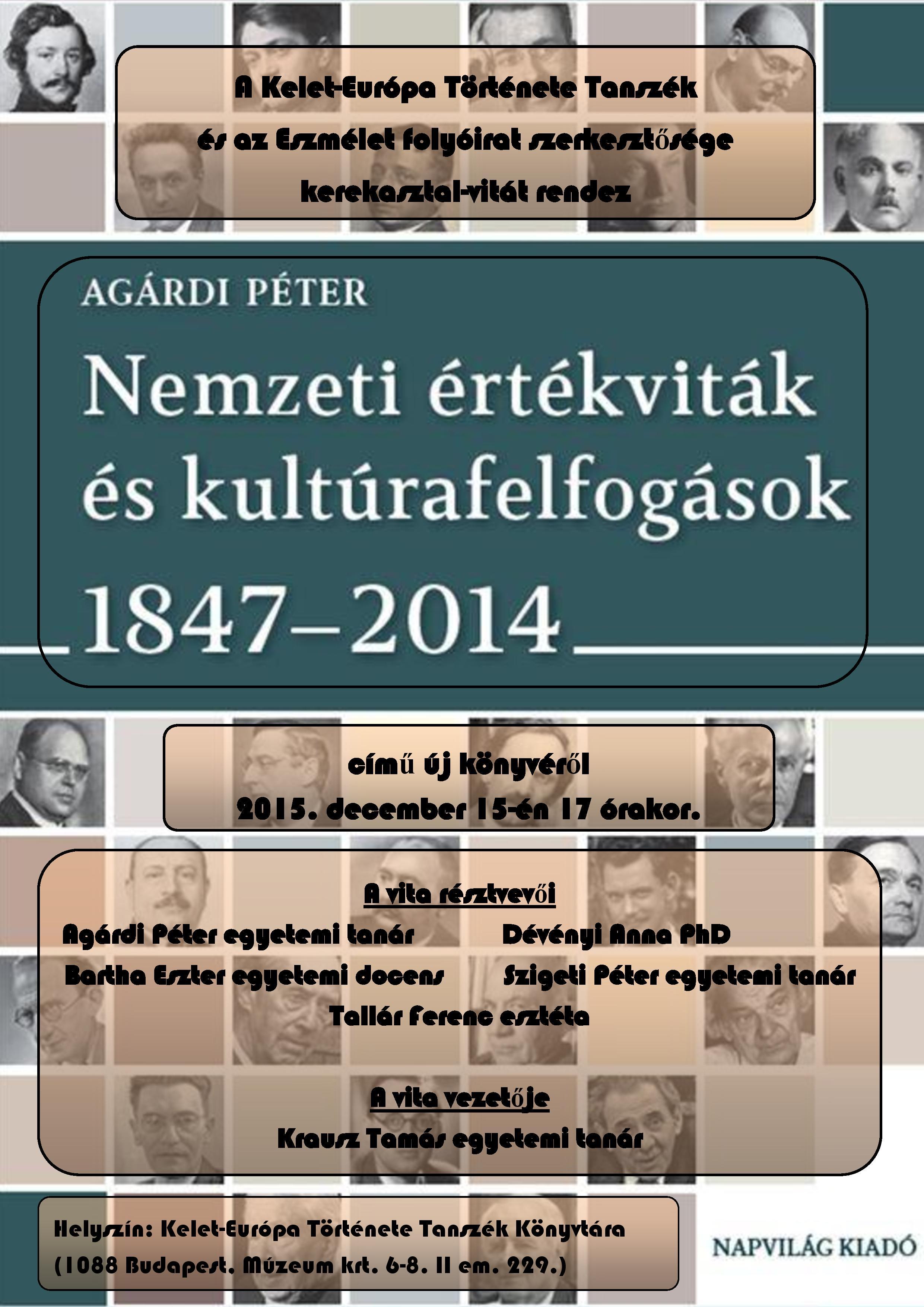 Helyszín  Kelet-Európa Története Tanszék Könyvtára (1088 Budapest fe698b2450