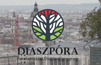 Elindult a Diaszpóra Felsőoktatási Ösztöndíjprogram