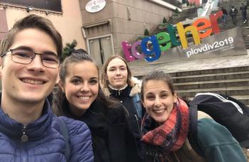 Plovdivban jártak a fiatal ruszisták