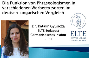Dr. Gyuricza Katalin