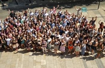 A határon túli magyar anyanyelvű egyetemi hallgatók hagyományos találkozója az ELTE-n.