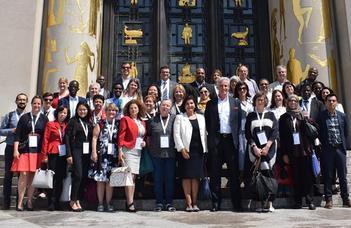 Barátné Hajdu Ágnes az ENSZ-ben