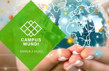 Megnyílt a Campus Mundi rövid külföldi tanulmányút pályázata