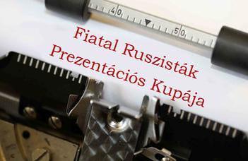 Fiatal Ruszisták Prezentációs Kupája