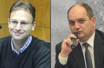 Virgiliu Ţărău egyetemi tanár és Lönhárt Tamás egyetemi docens vendégelőadása