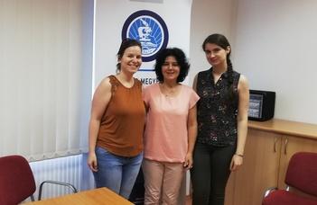 Dr. Gyimesi Zsuzsanna, Mészáros Zsófia, Szaniszló Orsolya