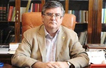 A Bukaresti Egyetem rektora tart előadást a humán tudományok jövőjéről.
