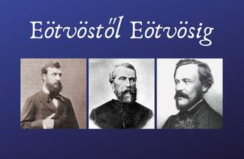 """Előadói lehetőség az """"Eötvöstől Eötvösig"""" konferencián"""