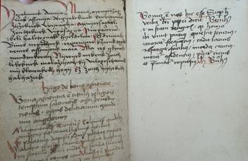A kéziratok vándorlása – Migration der Handschriften