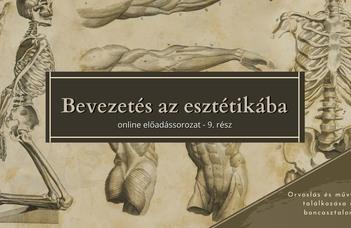 Az ELTE Esztétika Tanszék sorozatában Nagy Edina tart előadást.