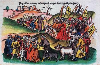 A mongolok Közép-Európában