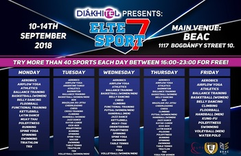 ELTE Sport Week