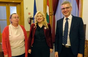 Az IFLA új elnöke tartott előadást a BTK-n