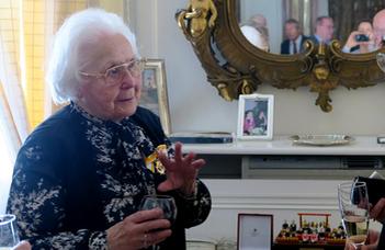 Rangos kitüntetés Kulin Katalinnak