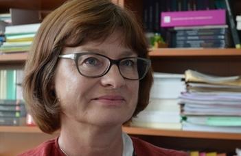 Dr. Marie-Vic Ozouf-Marignier díszdoktori előadása