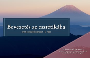 Az ELTE Esztétika Tanszék sorozatában Cseh Dávid tart előadást.