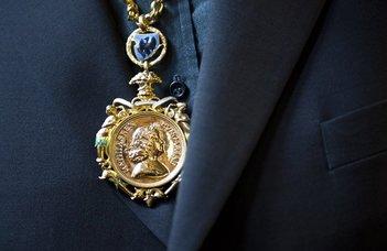 Ritoók Zsigmond Corvin-lánc kitüntetést kapott