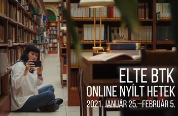 ELTE BTK Nyílt Hetek