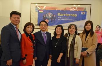 Karriernap koreai cégekkel a BTK-n
