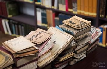 Bíró Gyöngyi előadása a Könyvtár- és Információtudományi Intézetben.
