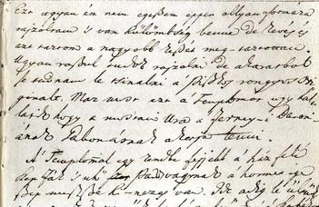 Turistaszemmel Európában.  Rhédei Ádám útinaplója 1789–1792