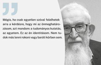 Online mutatják be a Komoróczy Géza életét feldolgozó kötetet.