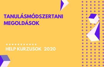 2020/21 ősz | Tanulásmódszertani megoldások