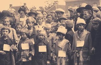 A Néderlandisztika Tanszék könyvbemutatója az I. világháború utáni holland-belga segélyakcióról.