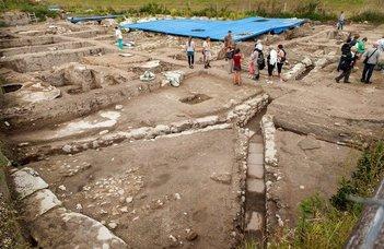 Újabb ókori régészeti leletet tártak fel