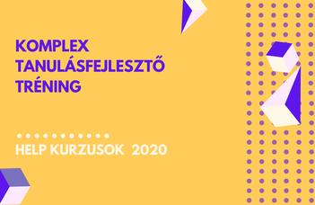 2020/21 ősz | Komplex tanulásfejlesztő tréning