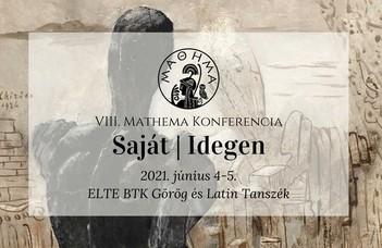 Klasszika-filológia szakos hallgatók tanácskozása az ELTE Görög és Latin Tanszék szervezésében.